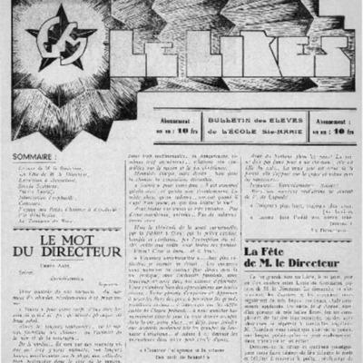 Le Likès bulletin des élèves de l'école Sainte-Marie [Nous les jeunes] 1937.pdf