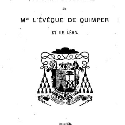 Mandements, Lettres et Circulaires de Mgr Nouvel