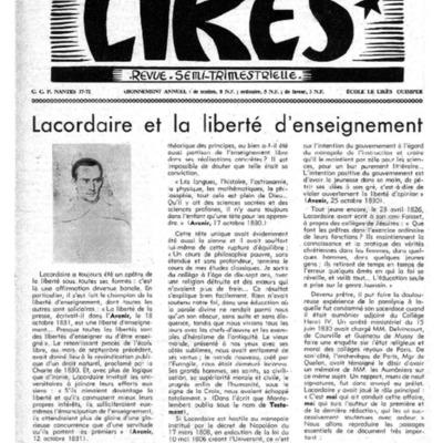 Le Likès revue semi-trimestrielle 1961-1962
