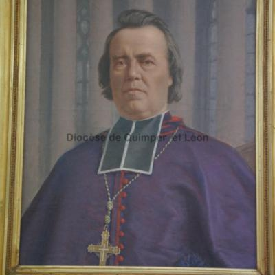 Portrait de Mgr Lamarche