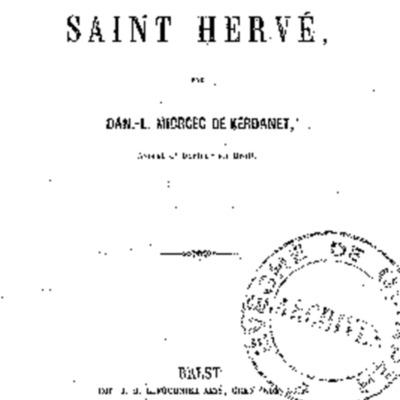 Légende de saint Hervé