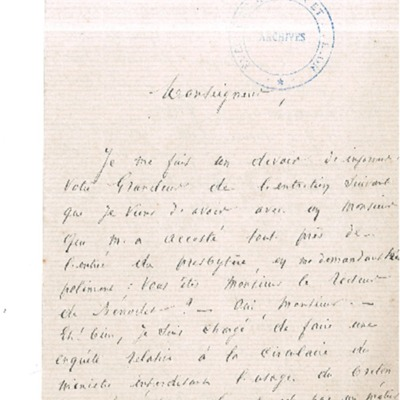 Usage du breton et du français dans les instructions et catéchisme à Bénodet