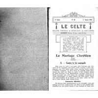 Le Celte : Bulletin Paroissial de Notre-Dame du Mont Carmel 1933