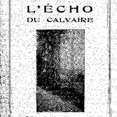 L'Echo du Calvaire : bulletin de l'Association amicale des anciens élèves du Calvaire de Landerneau 1932