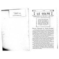 Le Celte : Bulletin Paroissial de Notre-Dame du Mont Carmel 1941