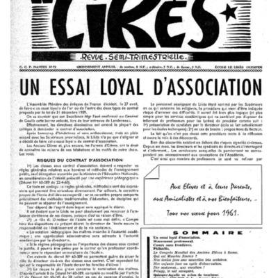 Le Likès revue semi-trimestrielle 1960-1961