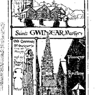 Un saint du Cornwall dans le Morbihan : saint Guigner, martyr, patron de Gwinear, en Cornwall, et de Pluvigner, en Bretagne