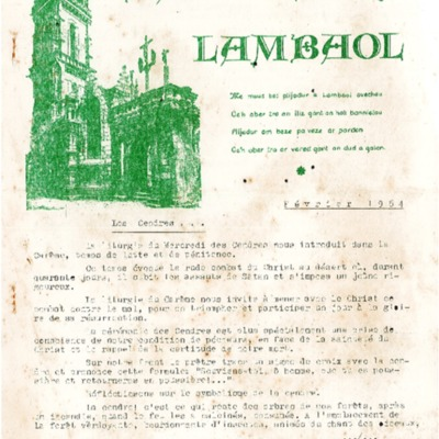 Bannielou Lambaol 1964