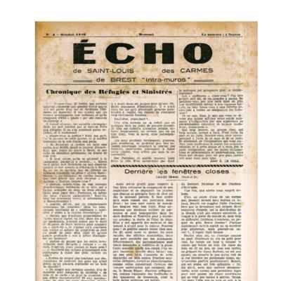 Echo Saint-Louis et Carmes 04 - octobre 1946