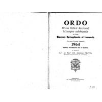 Annuaire diocésain année 1964