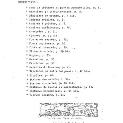 Diocèse de Quimper et Léon, nouveau répertoire des églises et chapelles : répertoire par sujets