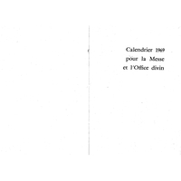 Annuaire diocésain année 1969