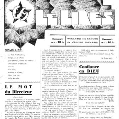 Le Likès bulletin des élèves de l'école Sainte-Marie [Nous les jeunes] 1939.pdf