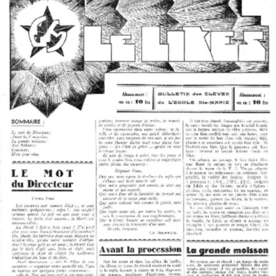 Le Likès bulletin des élèves de l'école Sainte-Marie [Nous les jeunes] 1938.pdf