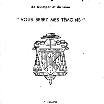 Lettres Pastorales et Mandements de Mgr Fauvel