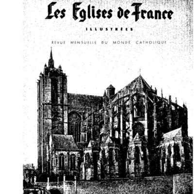 Les églises de France illustrées  : revue mensuelle du monde catholique n°13