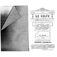 Le Celte : Bulletin Paroissial de Notre-Dame du Mont Carmel 1932