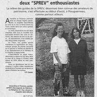 1458 Amandine et Florence, deux SPREV enthousiastes... 19.08.2000..jpg