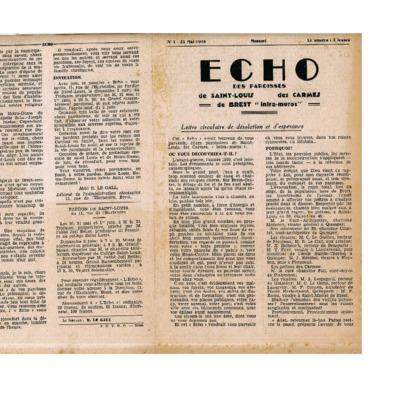 Echo Saint-Louis et Carmes 01 - mai 1946