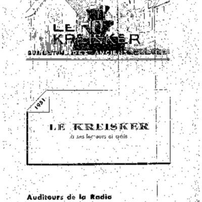 Kreisker 1951-1952