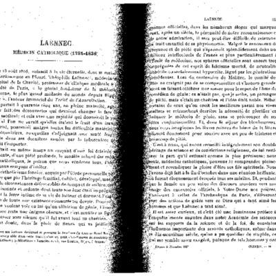 Etudes t. 189 oct-dec 1926 p. 545-566 Laennec médecin catholique Pierre Barbet.pdf