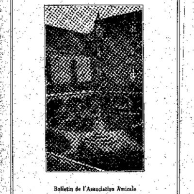 L'Echo du Calvaire : bulletin de l'Association amicale des anciens élèves du Calvaire de Landerneau 1934
