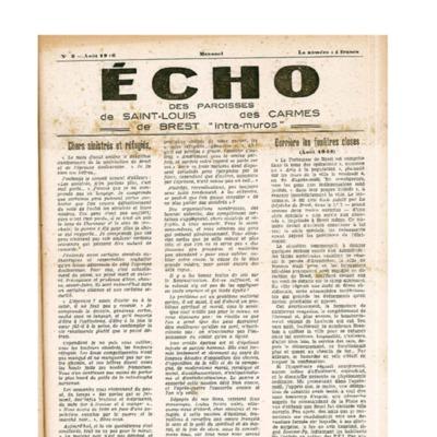 Echo Saint-Louis et Carmes 03 - août 1946
