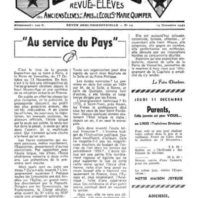 Le Likès revue des anciens élèves et des amis de l'école  Sainte-Marie Quimper 1947-1948.pdf