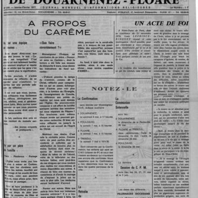 L'Echo de Douarnenez-Ploaré 1977