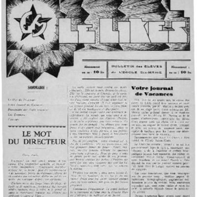 Le Likès bulletin des élèves de l'école Sainte-Marie [Nous les jeunes] 1936.pdf